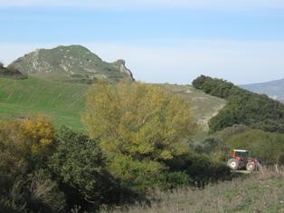 sicani - carcaci veduta parco sicani